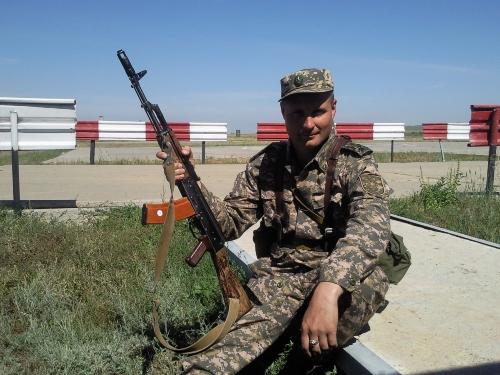 Я с АК-74