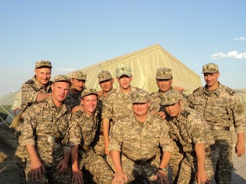1 взвод 3 мото-стрелковой роты