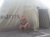 Палатка в которой я жил в/ч 31775