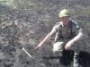 Остатки от противотанковой гранаты