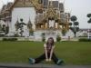На гозоне возле королевского дворца