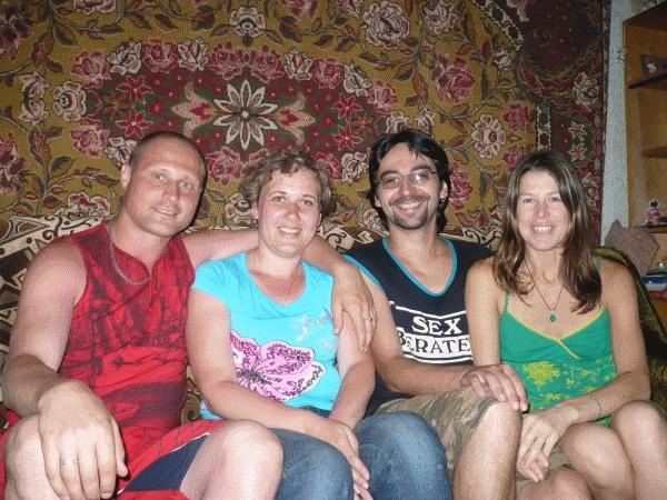 В гостях и Витальки