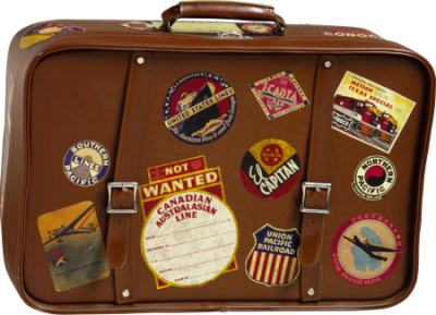 На чемоданах